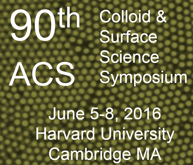 90th ACS Colloid & Surface Science Symposium